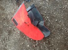 peugeot 205 1.6 / 1.9 phase 1 center console in red